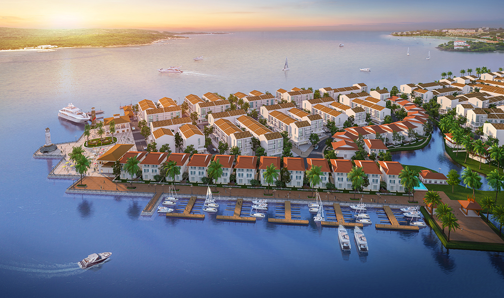 biet thu Marine city