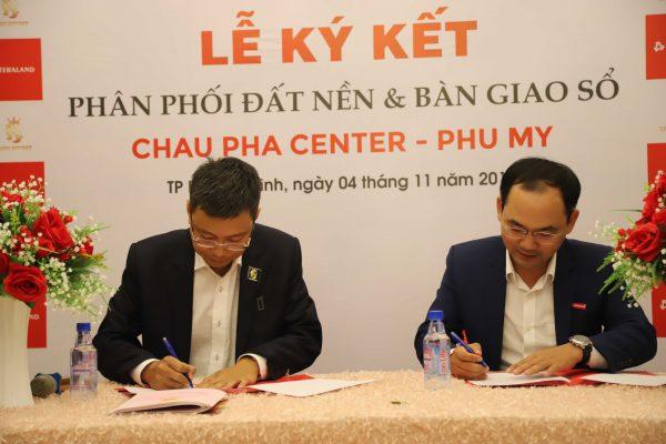 Đất nền Chau Pha Center Phú Mỹ 02