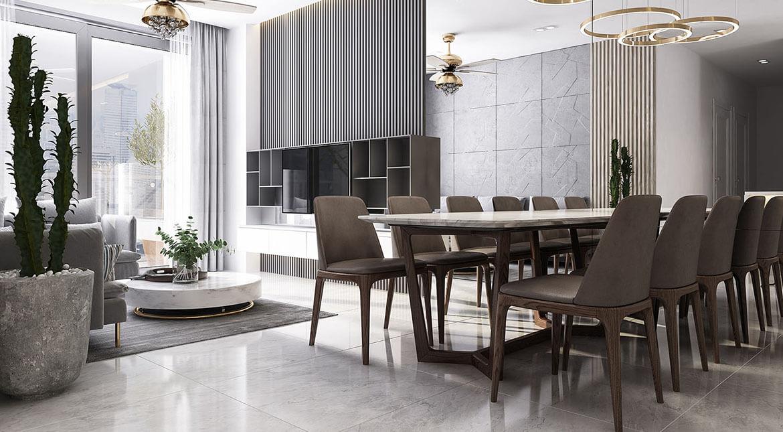Nhà mẫu dự án căn hộ chung cư Charm City Dĩ An Bình Dương chủ đầu tư DCT group
