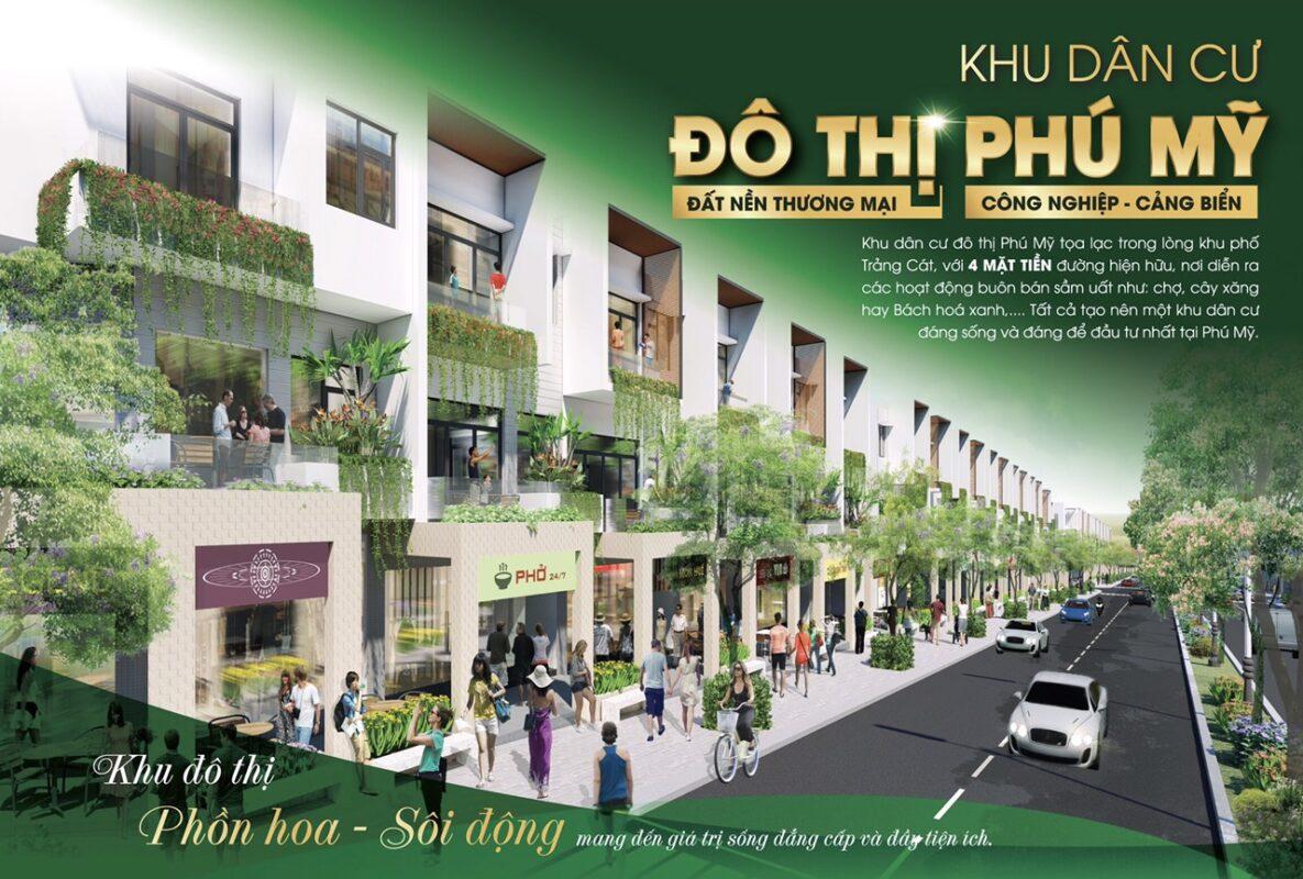 KDC đô thị Phú Mỹ - BRVT