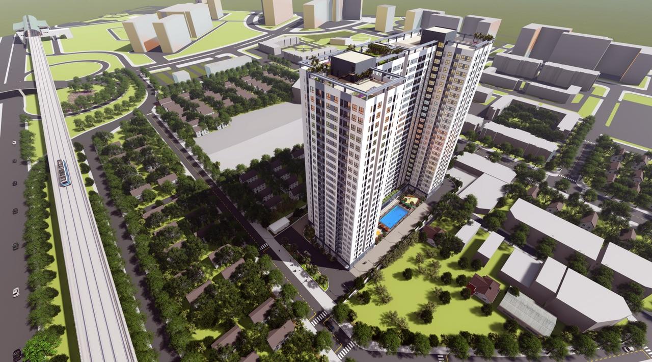 dự án căn hộ bcons miền đông