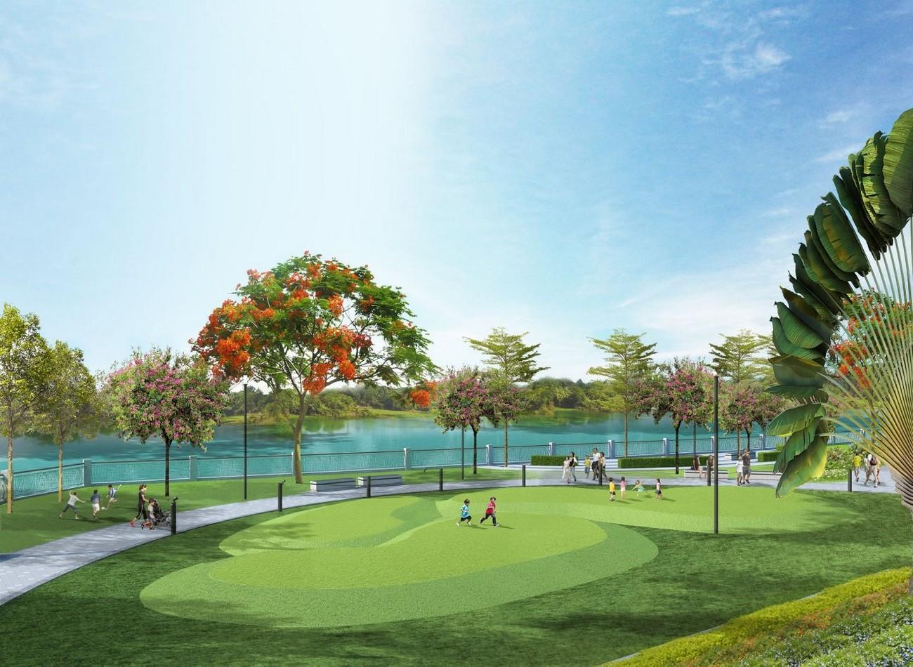 Công viên dự án căn hộ Bcons Suối Tiên Bình Dương