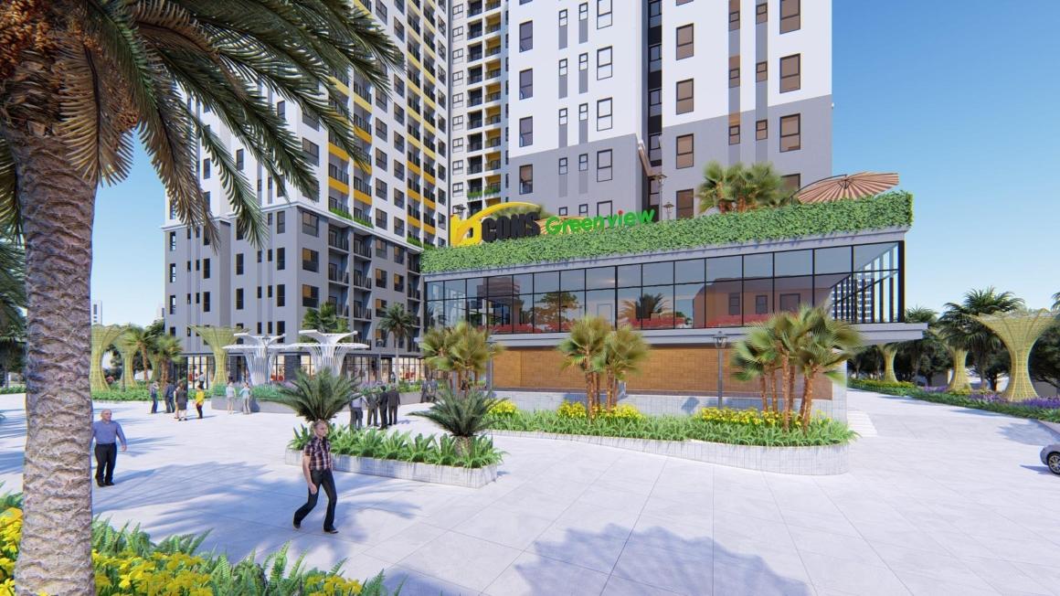 Phối cảnh tiện ích dự án Bcons Green View